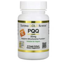 California Gold Nutrition PQQ (Пирролохинолинхинон), 20 мг ( 30 капс)