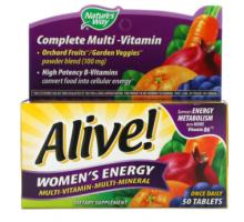 Nature's Way Alive Women's Energy (50 таб.)
