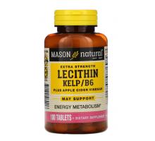 Mason Natural Lecithin Kelp/B6 (100 таб.)
