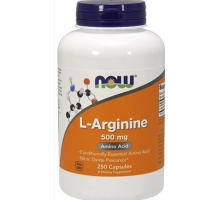 NOW L-Arginine 500 мг (100 капс)