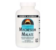 Source Naturals, малат магния, 3750 мг (180 табл)