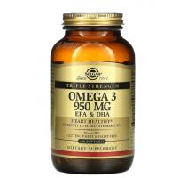 Solgar омега-3 ЭПК и ДГК 950 мг (100 капсул)