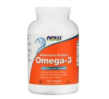 NOW ,омега-3, очищенная на молекулярном уровне (500 капсул)