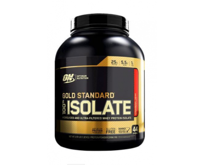Optimum Nutrition 100% Isolate Gold Standard (1360 гр)