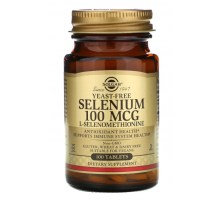Solgar селен 100 мкг (100 таблеток)