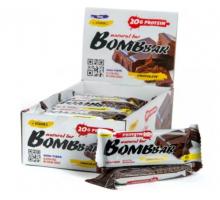 BOMBBAR протеиновый батончик двойной шоколад (60 гр.)