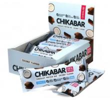 Bombbar Chikalab протеиновый батончик кокос с шоколадом (60 гр.)