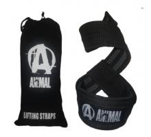 Universal Nutrition Лямки для тяги Animal (пара) прорезиненные +мешок для хранения