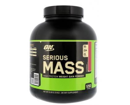 Optimum Nutrition, Serious Mass гейнер (2,72 кг)