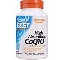 Doctor's Best Q10 с биоперином 100 мг (120 капс.)