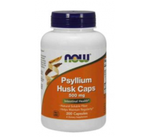 NOW Psylium Husk 500 mg (200 капс)