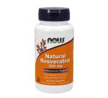 NOW Natural Resveratrol 200 mg (60 капс)