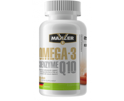Maxler Omega-3 Coenzyme Q10 (60 гел.капс.)