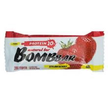 BOMBBAR протеиновый батончик клубника (60 гр)