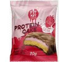 FitKit печенье Protein Cake клубника со сливками (70 гр)