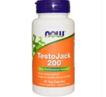 NOW TestoJack 200 (60 капс)