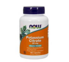 NOW Potassium Citrate 99 mg (180 капс)