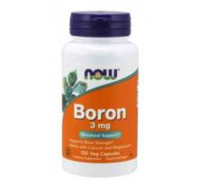 NOW Boron 3 mg (100 капс)