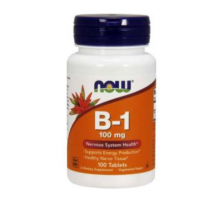 NOW Vitamin B-1 100 мг (100 табл)