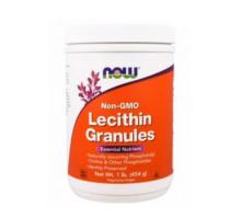 NOW Lecithin Granules Non-GMO (454 гр)