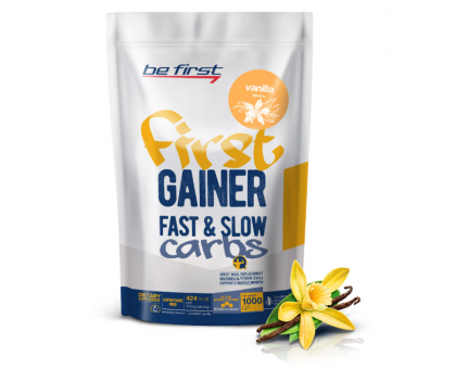 Be First First Gainer Fast & Slow Carbs (1000 гр)