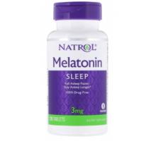 Natrol Melatonin (Мелатонин) 3 мг (120 таблеток)