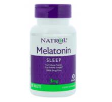 Natrol Melatonin (Мелатонин) 3 мг (60 таблеток)