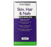 Natrol добавка Skin, Hair and Nails (60 капсул)