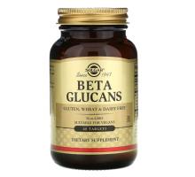 Solgar, Beta Glucans (60 таблеток)