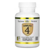 California Gold Nutrition Immune 4 -средство для укрепления иммунитета- (60 капсул)