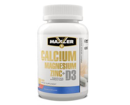 Maxler Calcium Zinc Magnesium + D3 (90 таб.)