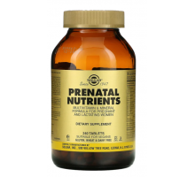 Solgar Prenatal Nutrients витамины для беременных (240 таб)
