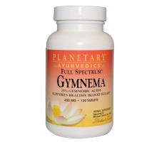 Planetary Herbals Ayurvedics (аюрведа), Full Spectrum, джимнема, 450 мг (120 таблеток)