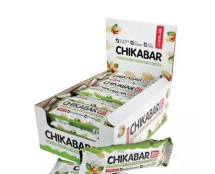 Bombbar Chikalab протеиновый батончик фисташковый крем (60 грамм)