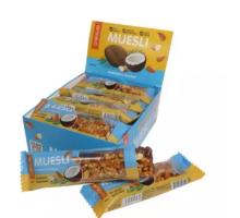 Bombbar Chikalab мюсли-батончики миндаль-кокос (40 грамм)