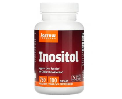 Jarrow Formulas, инозитол, 750 мг (100 капс)