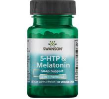 Swanson 5-HTP & Melatonin (30 капс)
