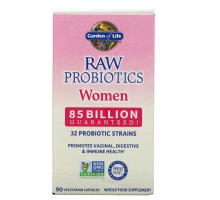 Garden of Life, RAW Probiotics, пробиотики для женщин, 85 млрд (90 капс)