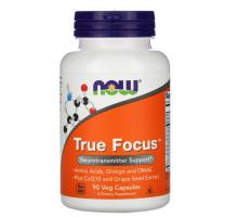 Now Foods, True Focus, (90 капс)