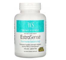 Natural Factors, WomenSense, EstroSense, гормональный баланс (120 капс)