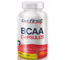 Be First BCAA Capsules БЦАА в капсулах (120 капc)