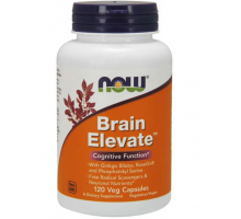Now Brain Elevate, поддержка здоровья мозга (120 капс)