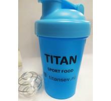 Titan фирменный шейкер 400 мл